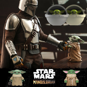 Star Wars Baby Yoda Mandalorian StarWars Military Figures Building Blocks Educational Toys For Children Boys Alien Guns Soldiers(China)