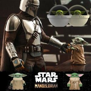 Star Wars Baby Yoda Mandalorian StarWars Military Figures Building Blocks Educational Toys For Children Boys Alien Guns Soldiers(China)