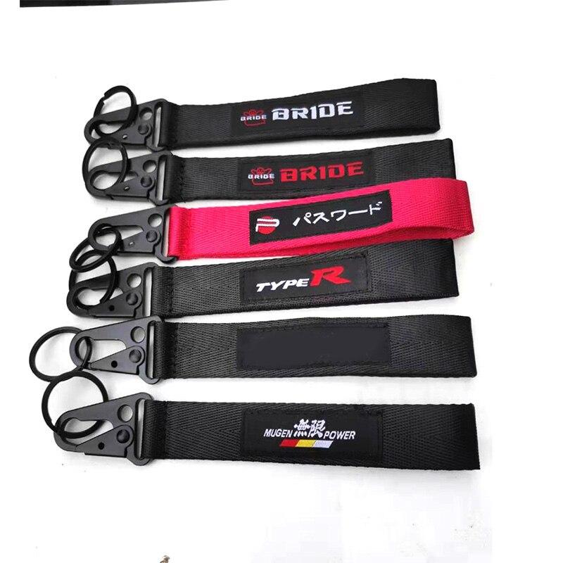Racing Bride JDM брелок на память брелок для мобильного телефона ID карта висячий ремешок ремешки как Fck Domo шокер брелоки