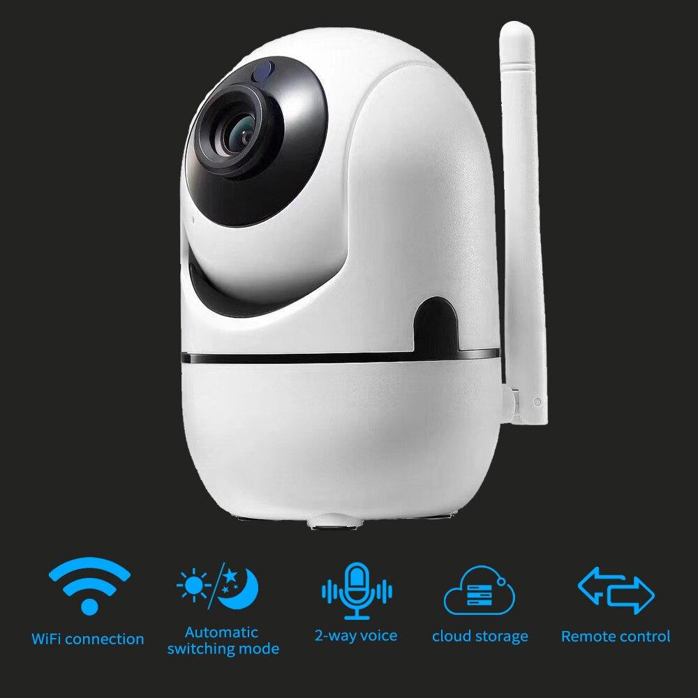 Full HD1080P Беспроводная IP интеллектуальная автоматическая слежения камера безопасности CCTV сети видео Видеонаблюдение ИК ночного видения