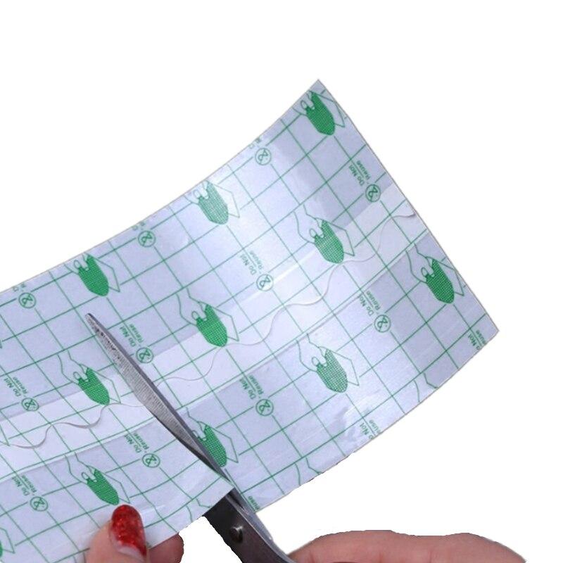 1 rolo impermeável fita adesiva transparente médica anti-alérgica médica do banho da fita adesiva da membrana do plutônio fita de fixação ferida