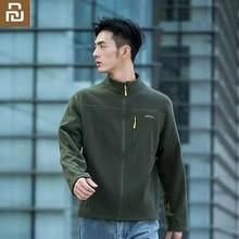 Xiaomi Waterproof warm breathable fleece soft Comfortable jacket Outdoor Hooded Coat Softshell Hiking Outerwear