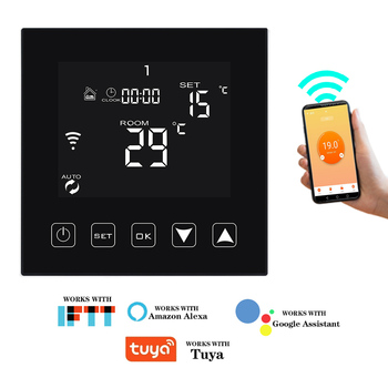 Smart Thermostat 16A Temperature Controller Wifi Thermostat Electric Warm Floor Heating Room Thermostat Works with Smart Home