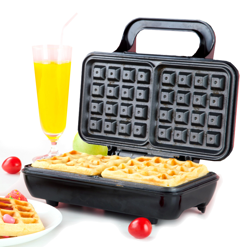 Household 220V Electric Waffle Baker Double Side Heating Multifunctional High Quality Electric Breakfast Waffle Maker Machine