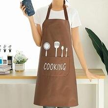 Delantal de cocina, cuchillo, tenedor, imagen, toalla de mano, delantales, prevención de manchas de aceite, limpieza ajustable, accesorios de Hornear en Casa, herramientas
