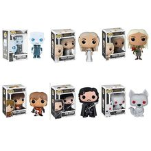 Funko POP-figuras de acción de Juego de tronos, Juguetes de hielo y fuego del rey de la noche, Jon Snow, modelo Regalo de Cumpleaños coleccionable en PVC