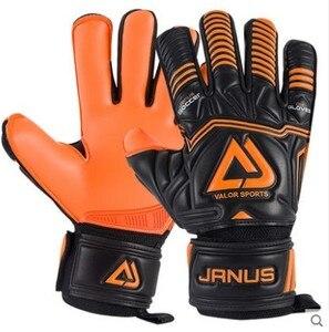 Image 3 - Professional Adult&Kids Football Goalkeeper Gloves Men Soccer Goalie Gloves CONTACT full latex finger detachable inner seam