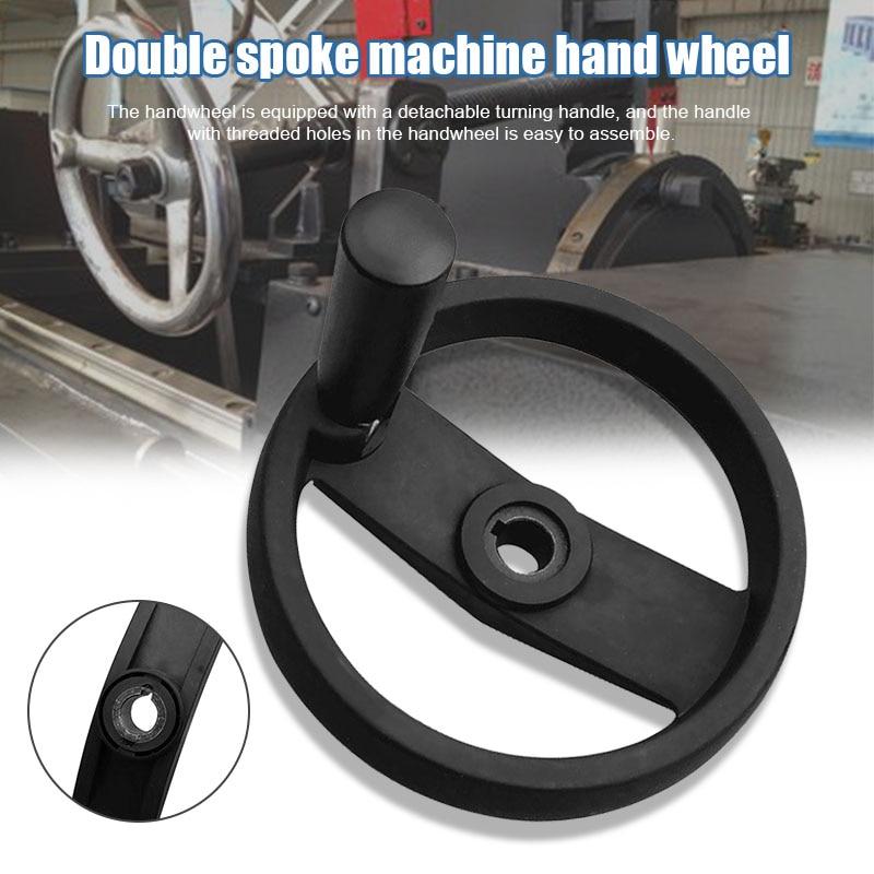 Handwheel with Revolving Grip Double Spoke Nylon Hand Wheel for Machine Tool L9