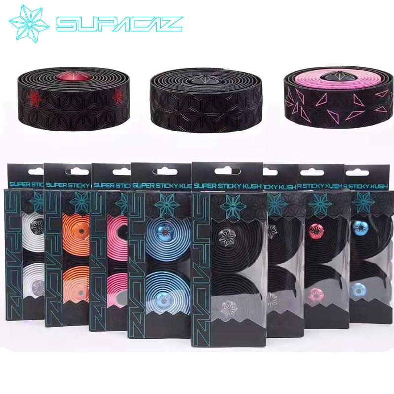 Supacaz Super Sticky Bike Bar Tape Road Bicycle Handlebar Tapes Multi-color Optional