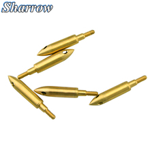 6pcs Whistle Copper Broadhead Arrowhead Screw Hunting Archery Arrow Field Hunting Arrow Heads Durable Hunting Accessory цена