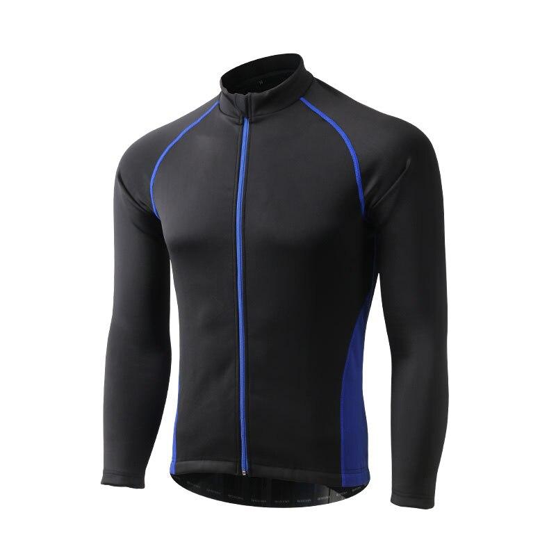Hiver thermique Sports de plein air veste cyclisme Maillot à manches longues vélo vêtements imperméable coupe vent XINTOWN Maillot vtt vêtements - 3