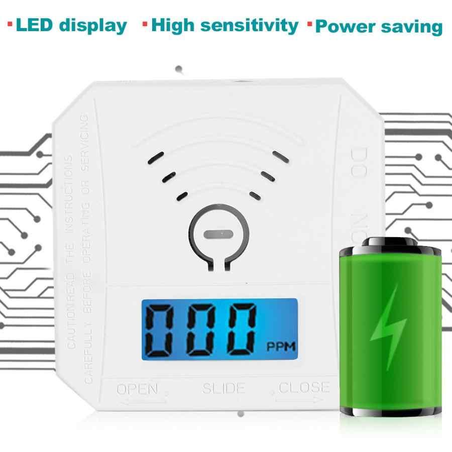 Мини со датчик отравления угарным газом предупреждающий звук и светильник с ЖК-дисплеем