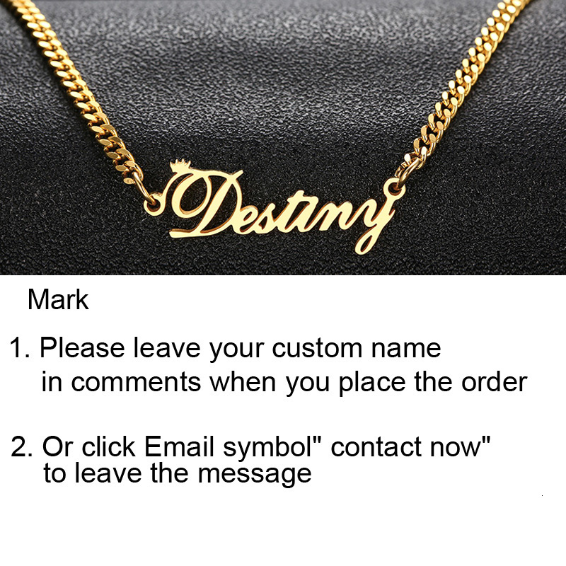 PERSONALIZED NAME NECKLACE STAINLESS STEEL CUSTOMIZED YOUR NAME JEWELRY BEST FRIEND GIFT FOR HER BRIDESMAID GIFTS MOTHER GIFTS