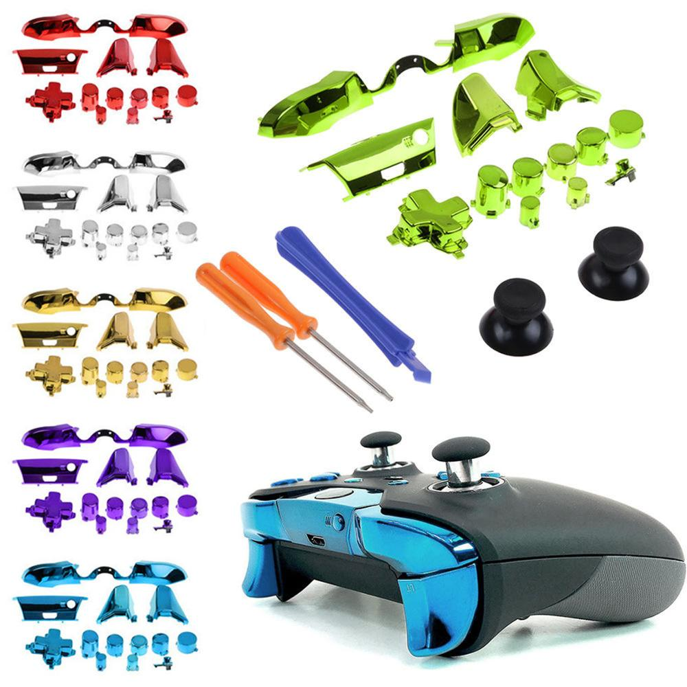 New Replacement Bumper LB RB Trigger Buttons Part Repair Accessory Kit Buttons Set For Microsoft Xbox One Elite Controller