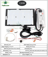 Dimmable LED Grow Light UV IR Quantum Tech Board Samsung LM301B V2 120W 240W 320W 480W with Meanwell Driver 7 years Warranty