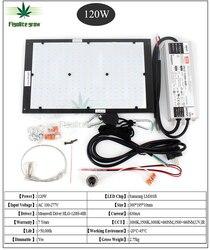 Regulable LED crecer luz UV IR cuántica tecnología Junta Samsung LM301B V2 120W 240W 320W 480W con conductor Meanwell 7 años de garantía