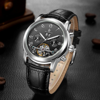 Top Luxury Brand Orkina Watch Men Mechanical Watches Luxury Tourbillon Automatic Mechanical Watches Casual Leather Watch 2019
