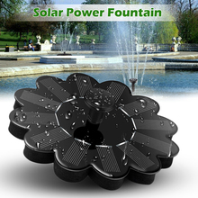 Solar Panel Water Fountain Pump Outdoor Landscape Fish Pool Garden Kit Decor