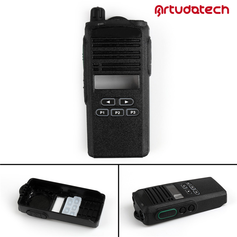 Artudatech 1x Front Outer Case Housing Cover Shell For Motorola CP1300 Wakie Talkie Radio CP 1300 Accessories