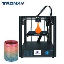 Tronxy D01 3D Drucker Stille Mainboard Linearführungsschiene Core XY Struktur 3,5 in Farbe TouchScreen 220*220*220mm Lebenslauf Druck