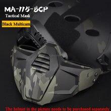 Тактическая Маска камуфляжные аксессуары для военной охоты стрельбы