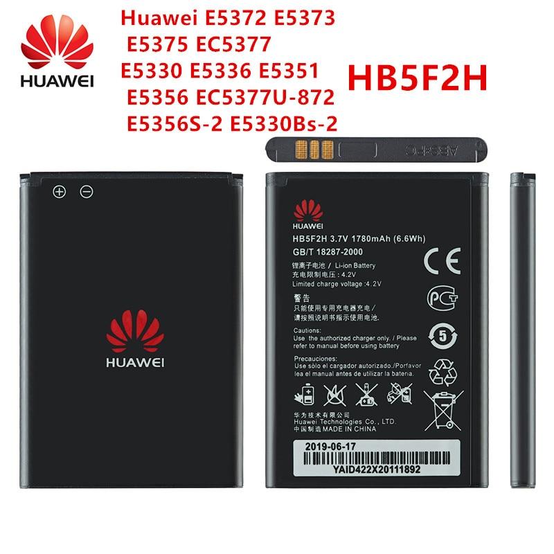 100% Orginal HB5F2H  Battery 1780mAh For Huawei E5372 E5373 E5375 EC5377 E5330 E5336 E5351 E5356 EC5377U-872 E5356S-2 E5330Bs-2
