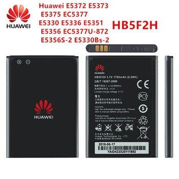 100% Orginal HB5F2H  battery 1780mAh For Huawei E5372 E5373 E5375 EC5377 E5330 E5336 E5351 E5356 EC5377U-872 E5356S-2 E5330Bs-2 original replacement battery for huawei e5336 e5330 e5375 ec5377 e5373 4g lte wifi router hb5f2h authenic battery 1780mah