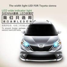 The width light LED FOR Toyota sienna T10 5000K front small light bulb outline light sienna headlight modification туфли sienna