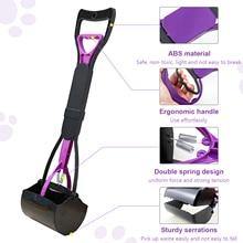 Dog Pooper Scooper Long Handle Broom for Large Small Dogs Poop Waste Pick Up Rake Tool Pick Up Dog Poop Broom Dog Product