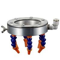 Substituição universal profissional pulverizador moagem broca máquina de gravura metal processamento bocal 80mm eixo anel spray água|  -