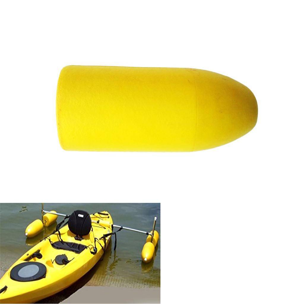 4Pcs PVC Foam Kayak Canoe Outrigger Stabilizer Float for Fishing Standing