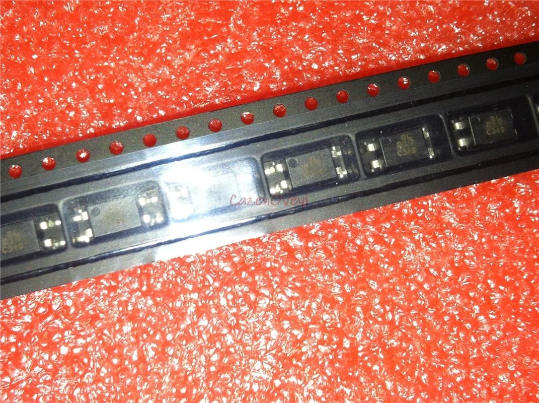 100pcs/lot SMD Optocoupler EL817C (PC817) EL817S-C SOP-4 In Stock