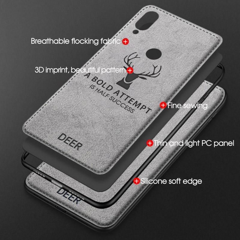 Classic Cloth Matte Skin Soft Fabric Phone Case Made Of Cloth Material And Soft TPU Material 14