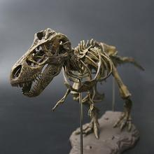 Dinosaur 4D Assembled Skeleton Childrens Toy Overlord Dragon Fossil Simulation Animal Model Decoration
