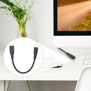 Image 2 - 0.2m 2m Extender Estensione di Ricambio USB 3.1 Accessori Nero Tablet Cavo Dati Tipo C Portatile Maschio A parti Del Telefono femminile
