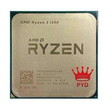 AMD Ryzen 3 1200 R3 1200 Quad Core de 3,1 GHz Quad-Hilo de procesador de CPU YD1200BBM4KAE hembra AM4
