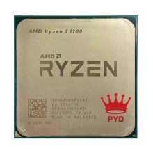 CPU Processor Amd Ryzen AM4 R3 1200 Quad-Core Ghz Yd1200bbm4kae-Socket