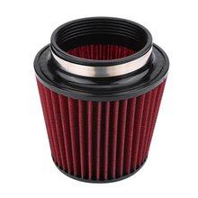 Воздушный фильтр красный из полиуретана хлопчатобумажная марля