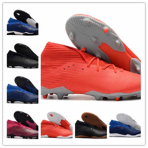 2019 mens soccer shoes Nemeziz 19.3 Laceless FG high ankle