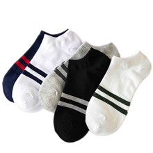 10pieces=5pairs men's boat Socks for All Seasons Spring Autumn Male Casual Breathable and sweat absorption Men Ankle Sock цены