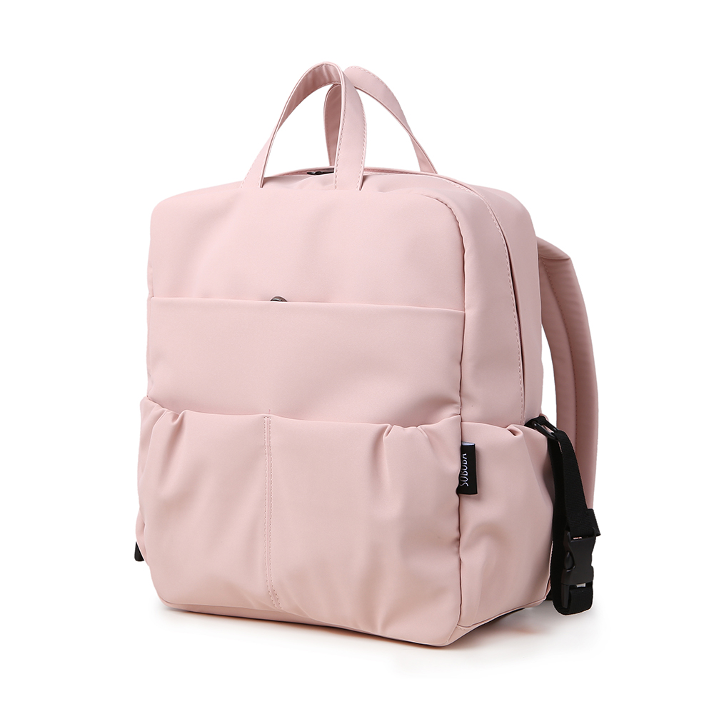 Large Capacity Diaper Backpack For Newborn Baby Waterproof Pink Cute Diaper Bag For Mother Maternity Bag For Travel Baby Care