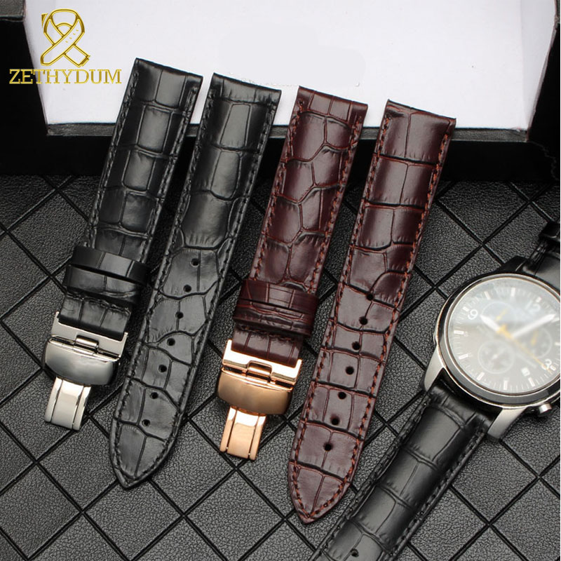Genuine leather bracelet 14mm 16mm 18mm <font><b>19mm</b></font> 20mm 22mm <font><b>prc200</b></font> strap for t-issot watchband T085/T41/T61/T17/T006 1853 watch band image