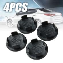 4pcs Black Plastic 54mm Car Wheel Center Hub Cap Tire Rim Cover For B-MW Mini Cooper