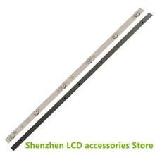 Nova 2 PCS 6LED tira retroiluminação LED para 32 polegada JL.D32061330 081AS M FZD 03 E348124 MS L1343 L2202 L1074 V2 2 6 3030 300MA 36V