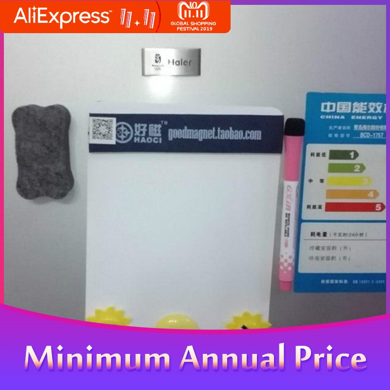 A5 Waterproof Drawing Magnetic Message Board Cooler Refrigerator Magnet Notepad R20