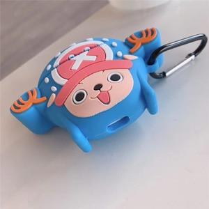 Image 5 - Ốp Lưng Dành Cho Airpods Dễ Thương Bluetooth Bảo Vệ Cho Airpods 2 Phụ Kiện Có Móc Khóa 3D Thiết Kế Liền Một Mảnh Luffy Zoro