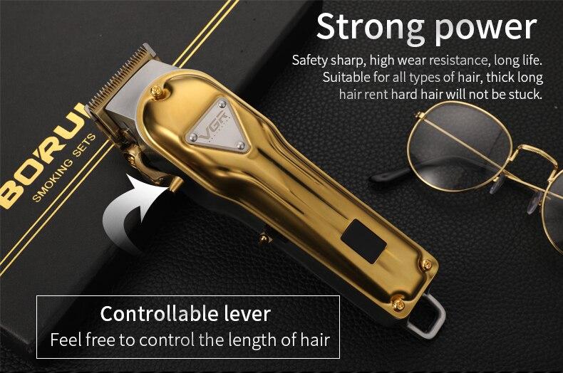 máquina de cortar cabelo elétrico aparador de