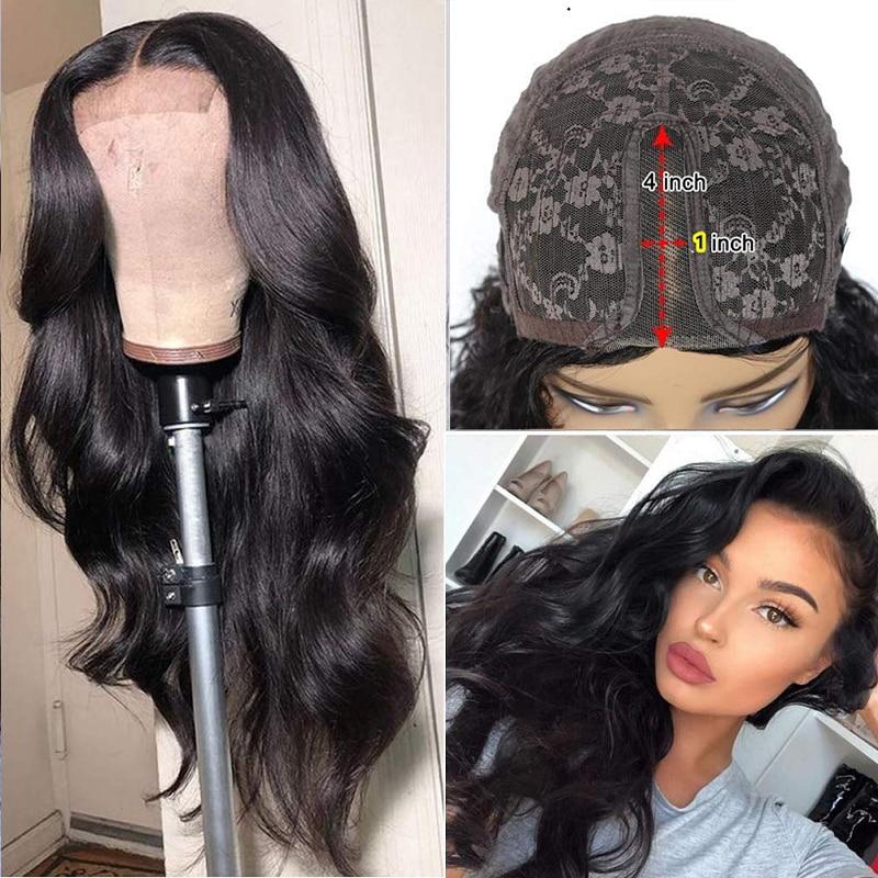 Объемная волна парик из натуральных 180% Плотность бразильские волнистые волосы предварительно собранные человеческие волосы для Для женщи...