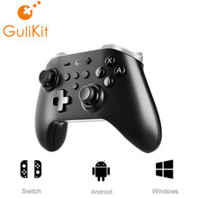 Gulikit NS09 Kingkong Pro contrôleur de jeu Bluetooth pour Nintendo Switch,Windows et Android