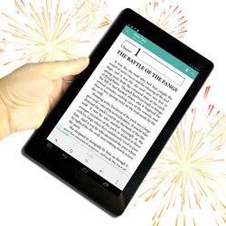 9 дюймов Android Digitl плеер с защитой для глаз с цветным дисплеем мини-ПК WiFi смарт-для чтения электронных книг с камер подарок кожаный чехол